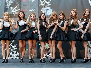 Kaki Jenjang SNSD di KCON 2014