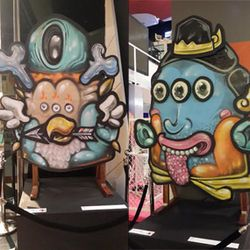 Grafiti Wayang di Indonesia Art Now eXpression