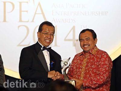 Emirsyah Satar Raih Asia Pacific Entrepreneurship Awards