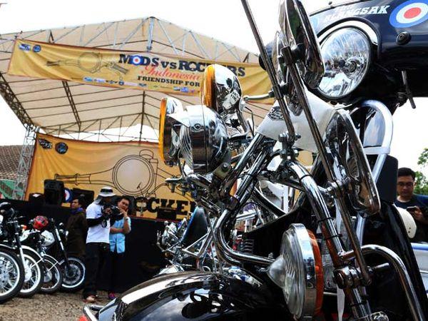 2.000 Bikers Kumpul di Kemang