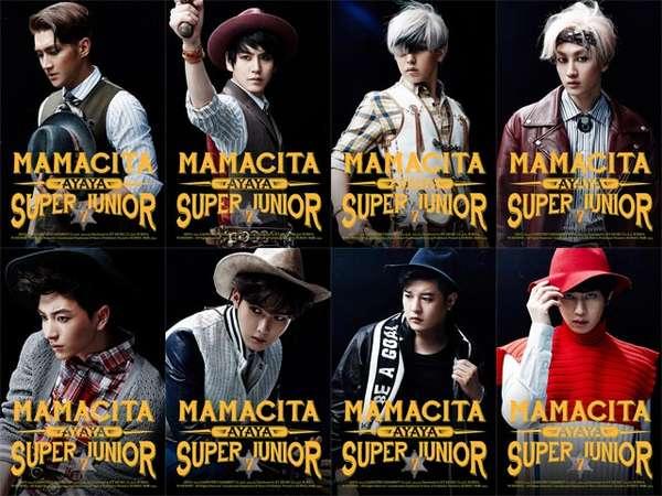 Ini Foto Teaser Terbaru Super Junior untuk MAMACITA