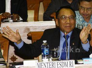 Menteri ESDM Rapat dengan DPR