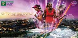 Tahun Ini Singapura Jadi Tuan Rumah BNP Paribas WTA Finals Singapore presented by SC Global
