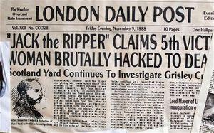 Misteri Pembunuh Berantai Jack the Ripper Diungkap di Buku Terbaru