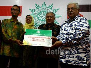 Muhammadiyah Sumbang Rp 2,5 M untuk Palestina