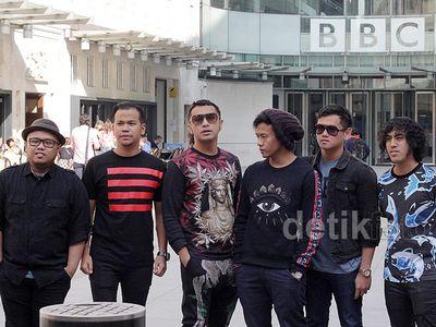 Mengintip Keseruan Nidji Tampil di BBC London