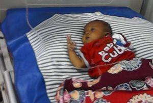 Berawal dari Broadcast, Donasi Untuk Bayi Ammar Datang Juga dari Luar Negeri