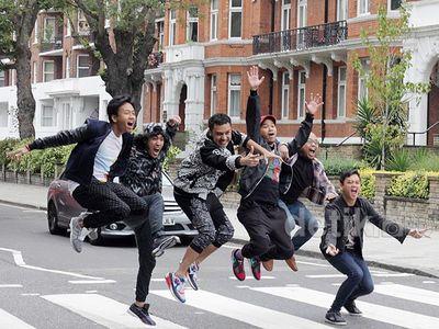 Nidji Jalan-jalan ke Abbey Road