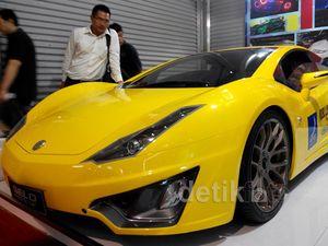 Mobil Sport Buatan Yogya Tebar Pesona di IIMS