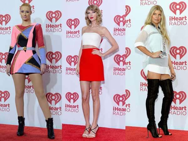 Taylor Swift Hingga One Direction di Red Carpet iHeartRadio Music Festival