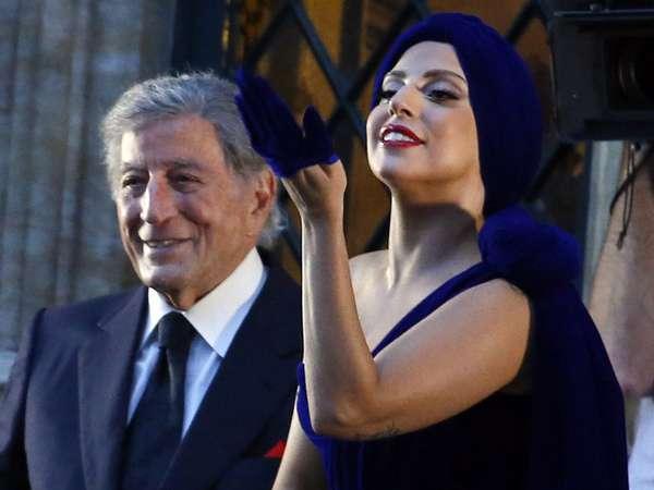 Gandeng Tony Bennett, Lady Gaga Tampil Elegan dan Seksi