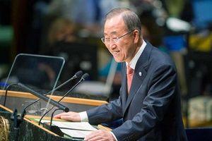 Sekjen PBB Soroti Ebola, ISIS dan Perubahan Iklim