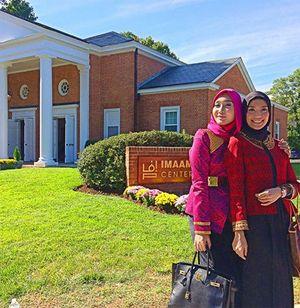 Day 4: Dian Pelangi Hadiri Peresmian Masjid Indonesia di D.C. Oleh SBY