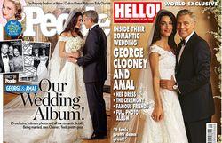 Ini Dia Foto Pernikahan George Clooney dan Amal Alamuddin