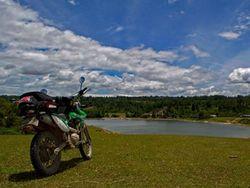 Kotor-kotoran Keliling Indonesia, Cara Viar Luncurkan Motor Trailnya