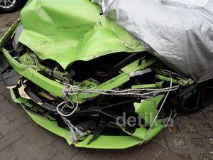 Beginilah Kondisi Lamborghini Milik Hotman Paris