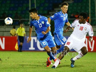 Uzbekistan-UEA Bermain Imbang 2-2