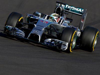 Hamilton Tercepat di GP Rusia