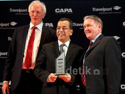 Dirut Garuda Raih Penghargaan CAPA