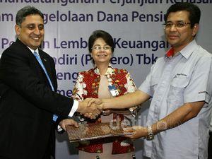 Bank Mandiri Kelola Dana Pensiun Karyawan Semen Padang