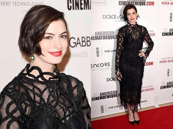 Cantik dan Elegan Anne Hathaway