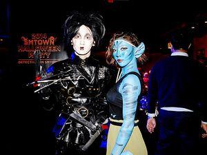 Edward Scissorhands Hingga Avatar di Pesta Halloween SMTOWN