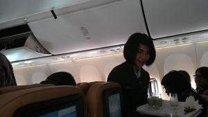 Pesawat Kepresidenan Jokowi, Jus Kacang Hijau dan Senandung Lagu Dewi Yull