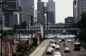 Pemotor Dilarang Lalui Semua Jalan Protokol Jakarta