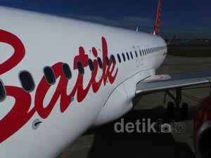 Pengiriman Perdana Airbus A320 Batik Air