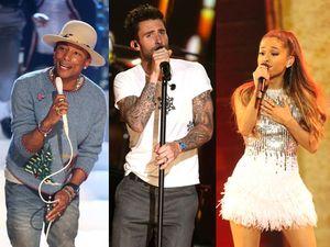 Ariana Grande Hingga Maroon 5 di Konser 'A Very Grammy Christmas'