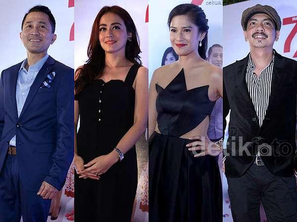 Bertabur Bintang di Premiere Film '7/24'