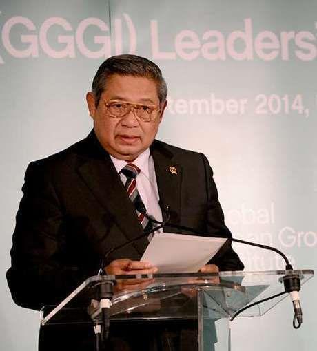 SBY Terima Penghargaan Mugunghwa dari Korea Selatan