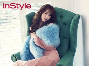 Yoona 'SNSD' Pink Menggoda di Majalah InStyle