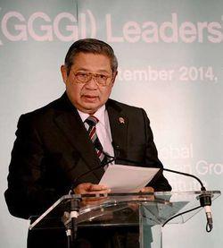 SBY Terima Penghargaan di Bidang Lingkungan Hidup dari UNEP