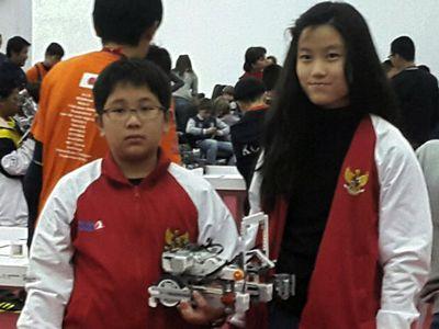 Anak Indonesia Juara Olimpiade Robot