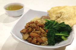 Mie Jamur Vilani: Slruup! Gurih Mantap Mie Ayam Jamur Komplit