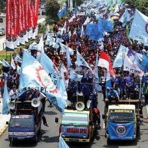Pengusaha Pusing: Demo Buruh Tutup Jalan Tol Sudah Kriminal