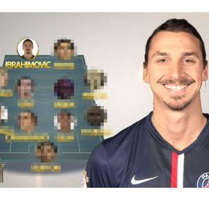 Selain Messi dan Iniesta, Ibrahimovic Pilih Dirinya Sendiri dalam Tim Terbaik Versinya