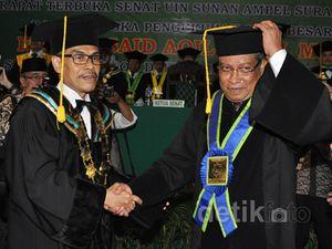 Ketua Umum PBNU Dikukuhkan Sebagai Profesor Bidang Ilmu Tasawuf