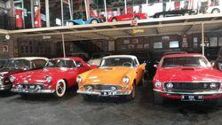 Hauwkes Auto Gallery, Lokasi Foto Pre Wedding dengan Puluhan Mobil Tua