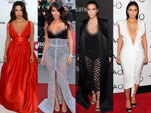 Hot Mom Alert! 10 Gaya Superseksi Kim Kardashian 2014