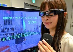 Sony SmartEyeGlass Mejeng di Pesta Gadget Dunia