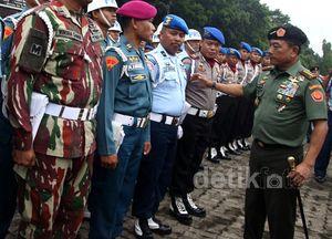 Apel Operasi Gaktib dan Yustisi TNI 2015