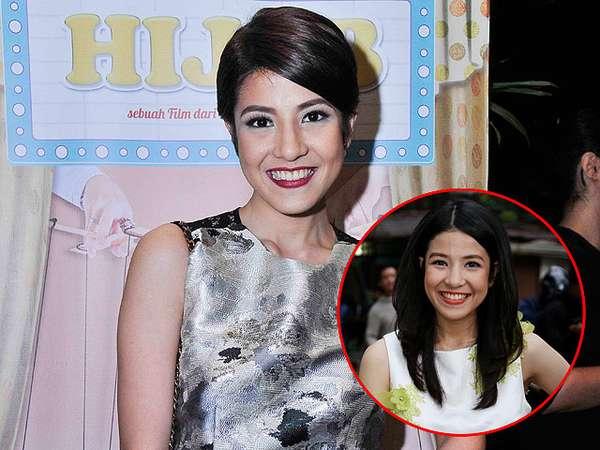 Natasha Rizki Lebih Cantik Berambut Panjang atau Pendek?