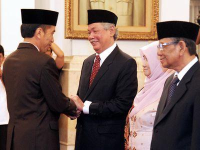 Jokowi Lantik Anggota Wantimpres