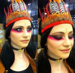 Pakai Kostum Pesta Ala Indian, Pixie Lott Diserang Komentar Rasis