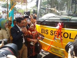 Bus Sekolah Gratis di Bandung Kembali Beroperasi Maret