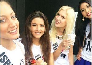 Dikecam karena Selfie, Miss Lebanon Mendadak Absen di Acara Miss Universe