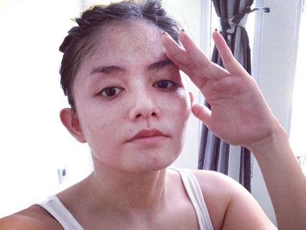 Begini Wajah Tanpa Make-up Tika Ramlan