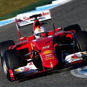 Vettel Tercepat di Hari Pertama Tes Jerez